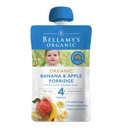 Bellamy's Organic Banana Apple Porridge 120g