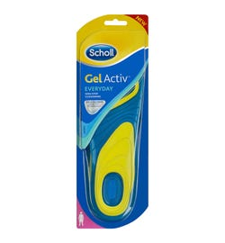 Scholl Gel Activ Insoles Everyday For Women
