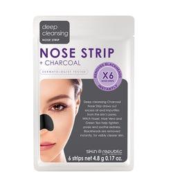 Skin Republic Charcoal Nose Strip X 6
