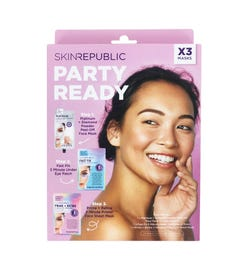 Skin Republic Party Ready 3 Piece Face Mask Gift Pack