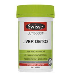 Swisse Ultiboost Liver Detox Tab X 200