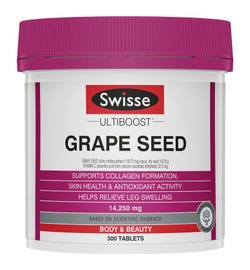 Swisse Ultiboost Grape Seed Tab X 300