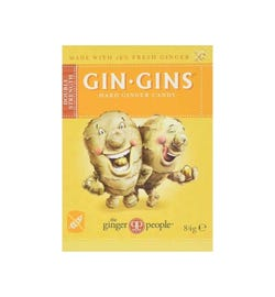 The Ginger People Gin Gins Hard Ginger Candy Double Strength 84g